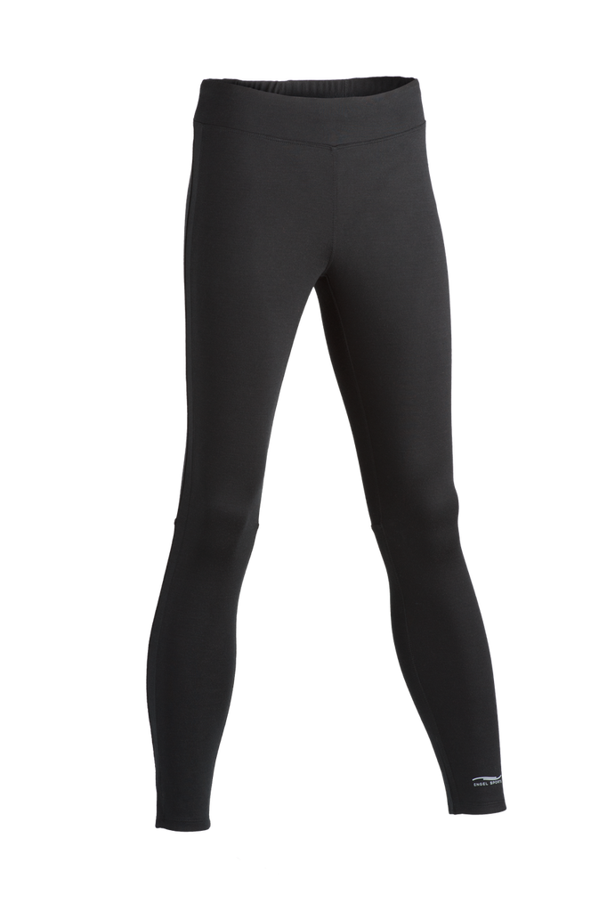 Organic Wool/ Silk Women's Sport Tights-Leggings