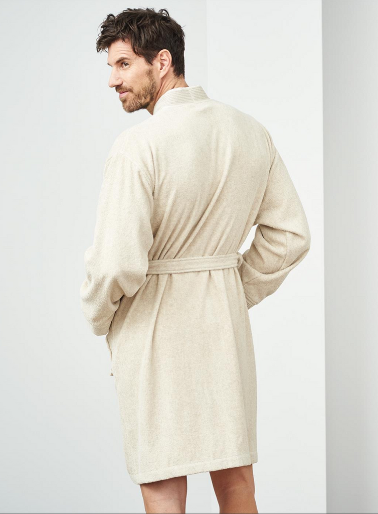 Bath Robe Men & Women | Organic Cotton Linen