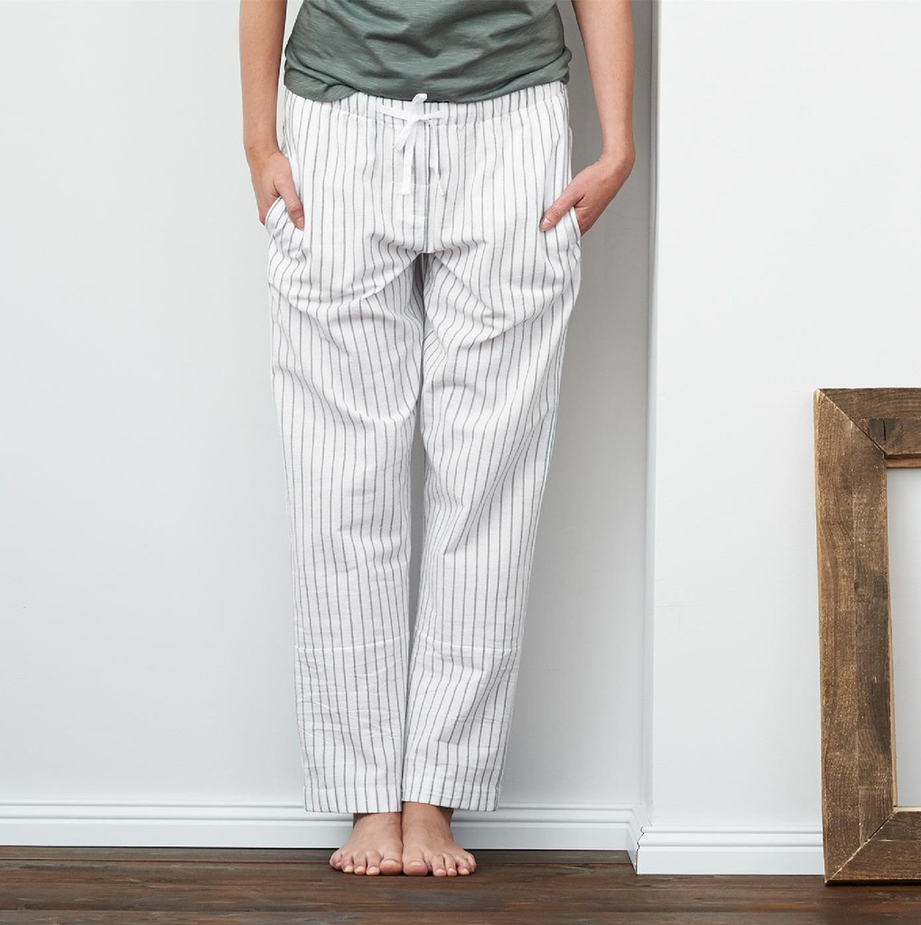 "Pajama Pants | ""EUGENIE"" organic cotton"