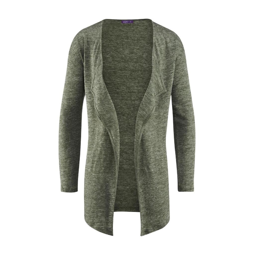 Organic Linen Cardigan CARLOTTA
