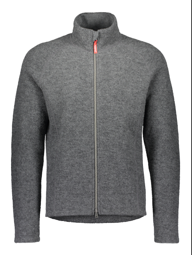 Ruskovilla Organic Wool Fleece Jacket for Man