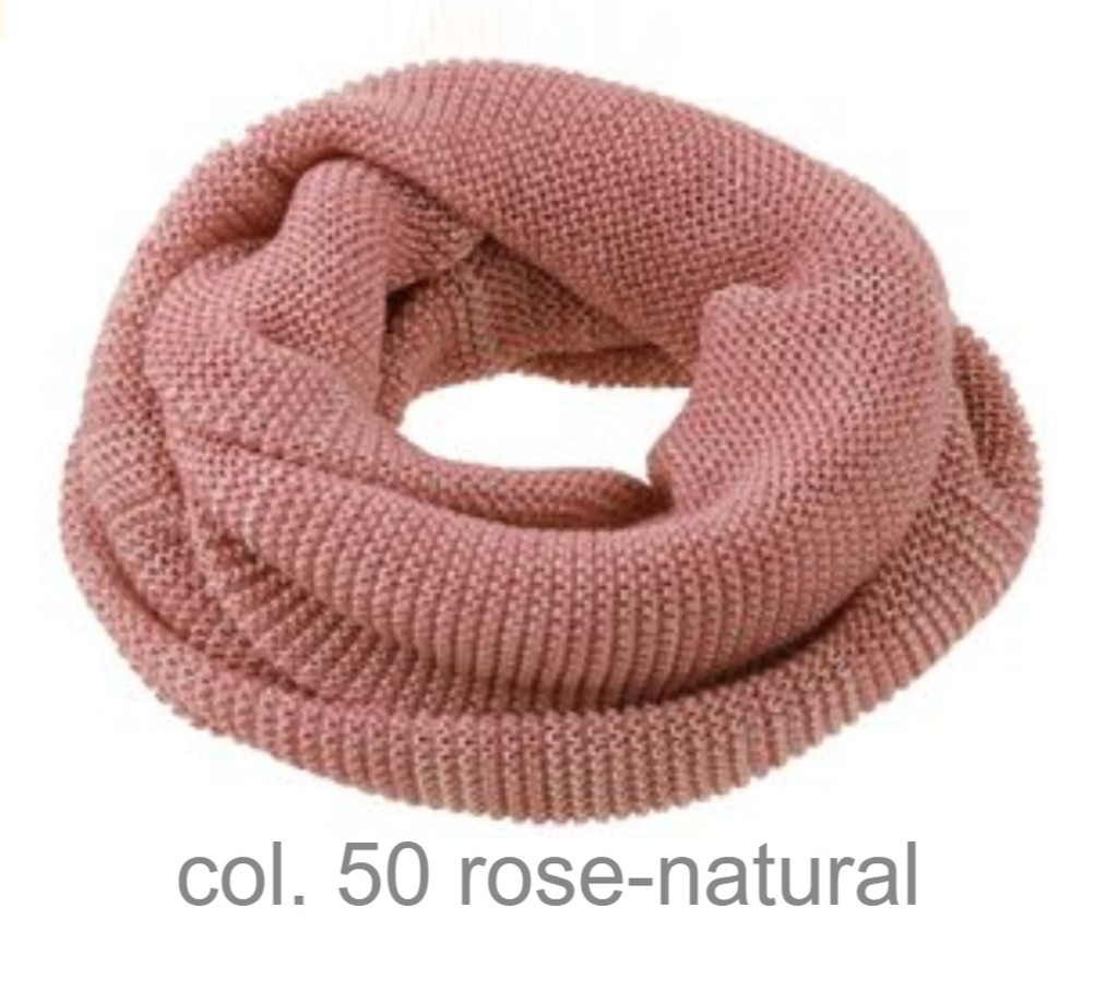 Organic Wool Loop Scarf