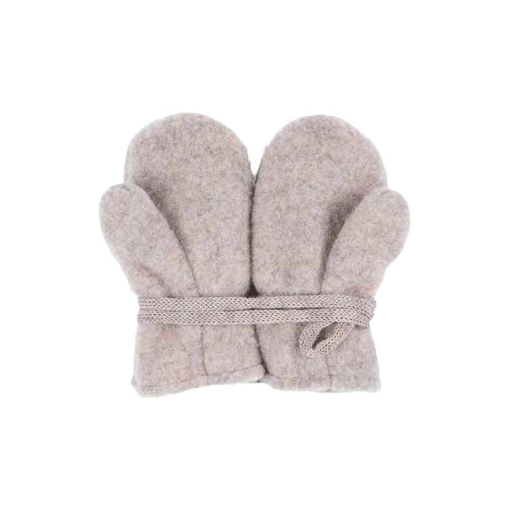 Baby Organic Wool Mittens Color: 85 kaschmir