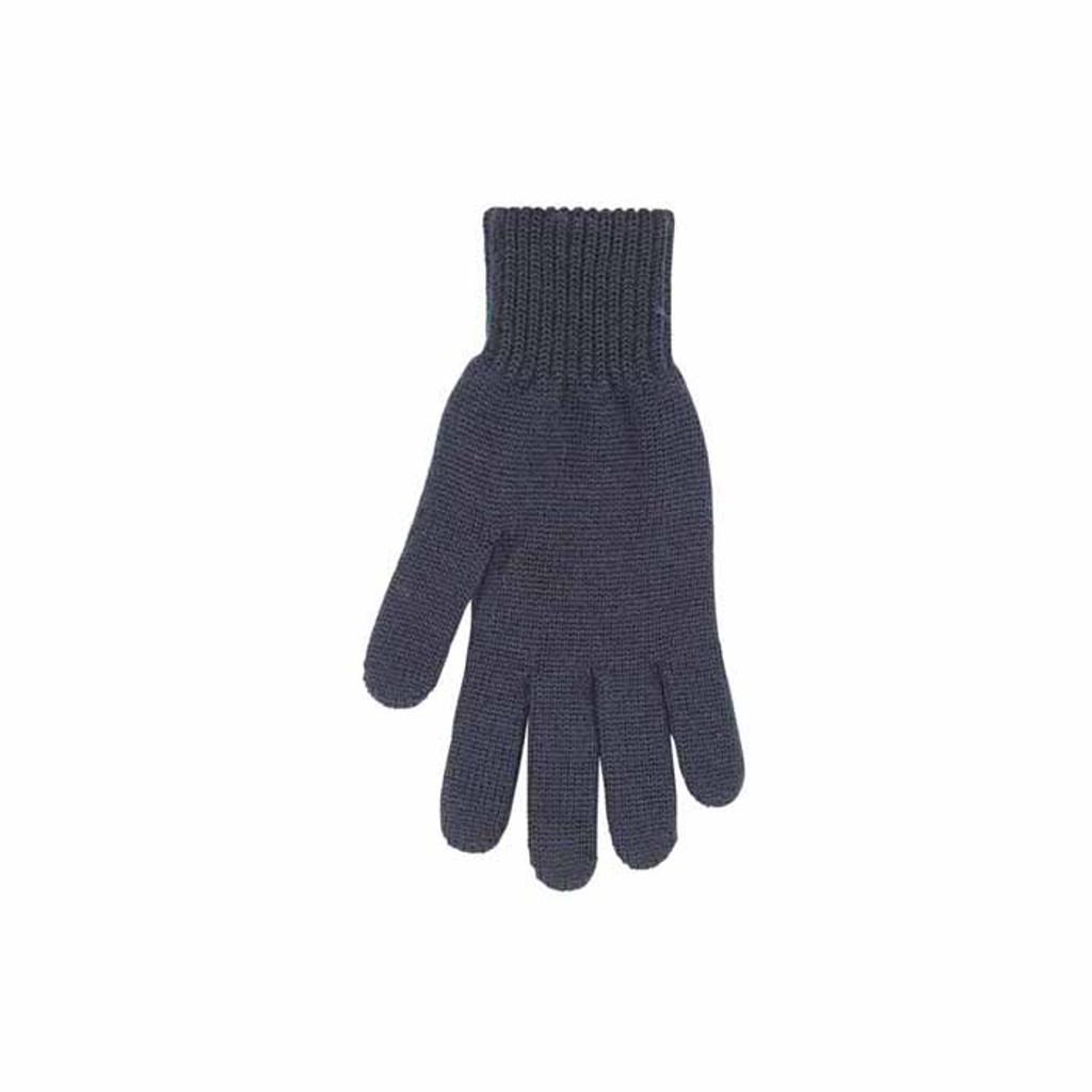 Man Organic Wool Gloves Color: 99 black