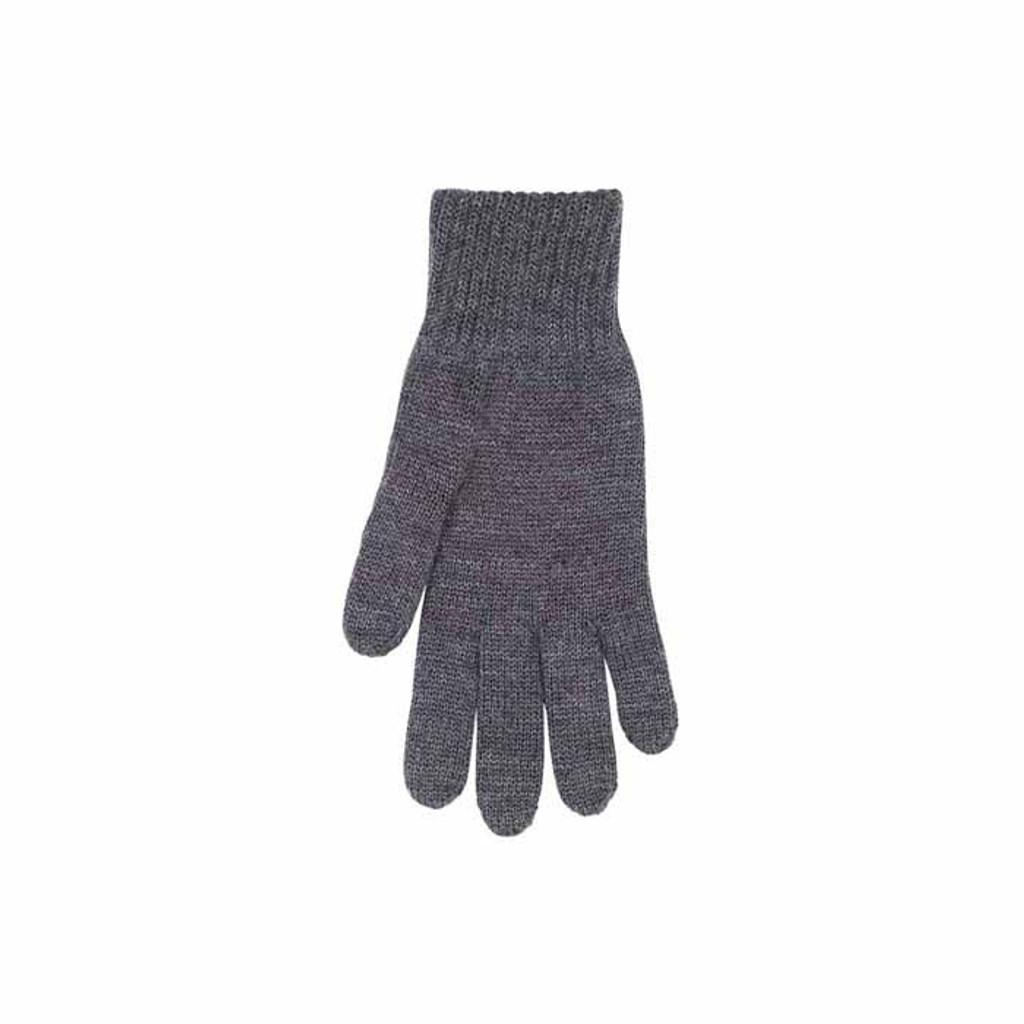 Man Organic Wool Gloves Color: 97 anthrazit