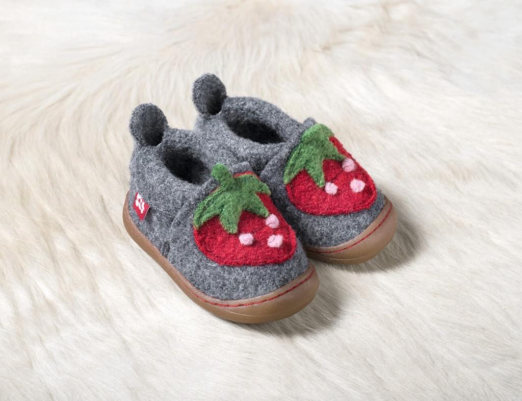 """POLOLO's Woolen Shoes """"Primero Erdbeere"""""""