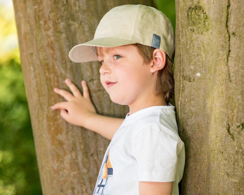 Linen Sun Hat  Cap