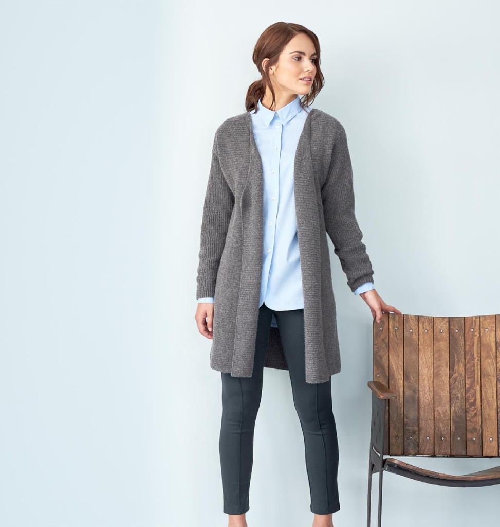 Organic Wool Cotton Cardigan