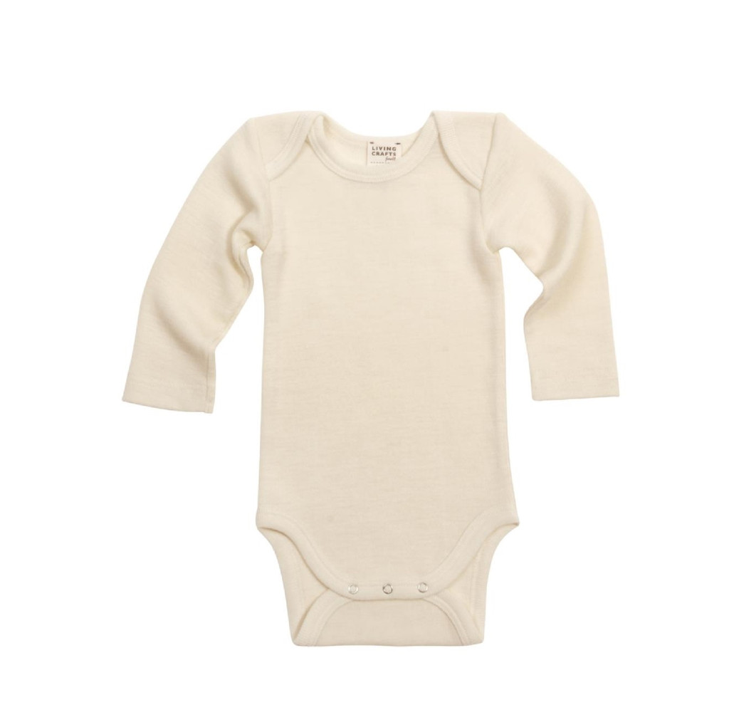 Organic Wool Sick Kids Bodysuit