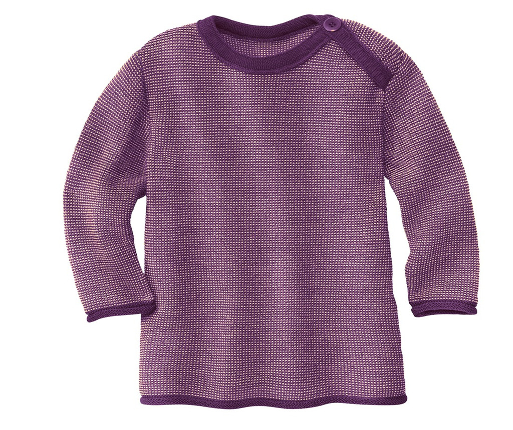 Disana Organic Wool Melange Sweater Color: