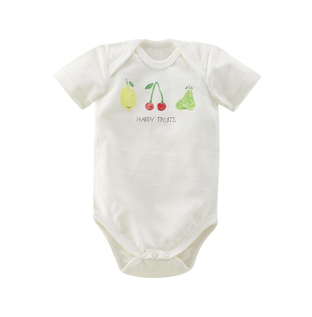Organic Cotton Short-sleeved bodysuit