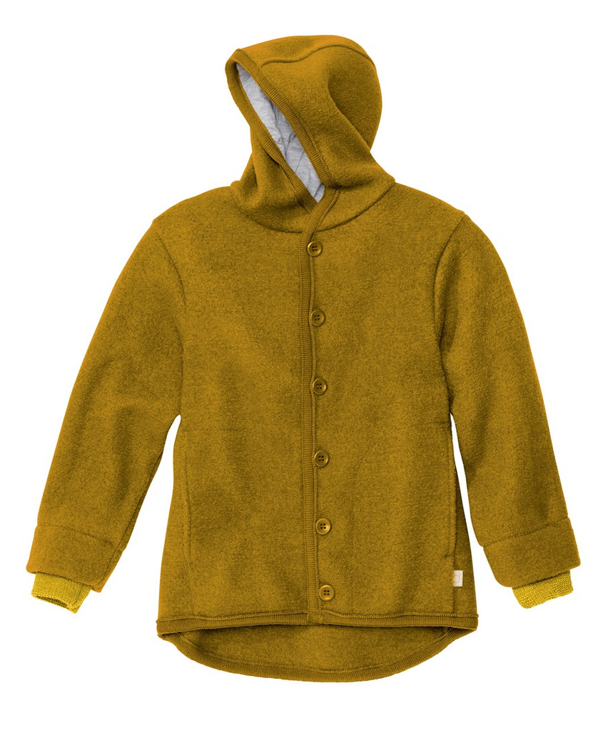 Disana Organic Boiled Wool Jacket Color:  Gold