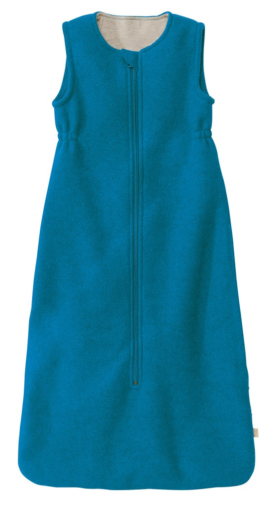 Disana Boiled Wool Sleep Sack Color: Blue