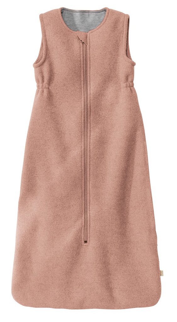 Disana Boiled Wool Sleep Sack Color: Rose