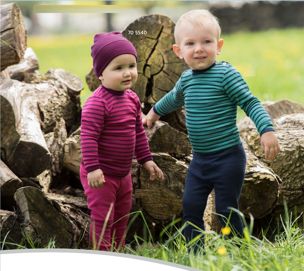 Engel Organic Wool/ Silk Baby Hat