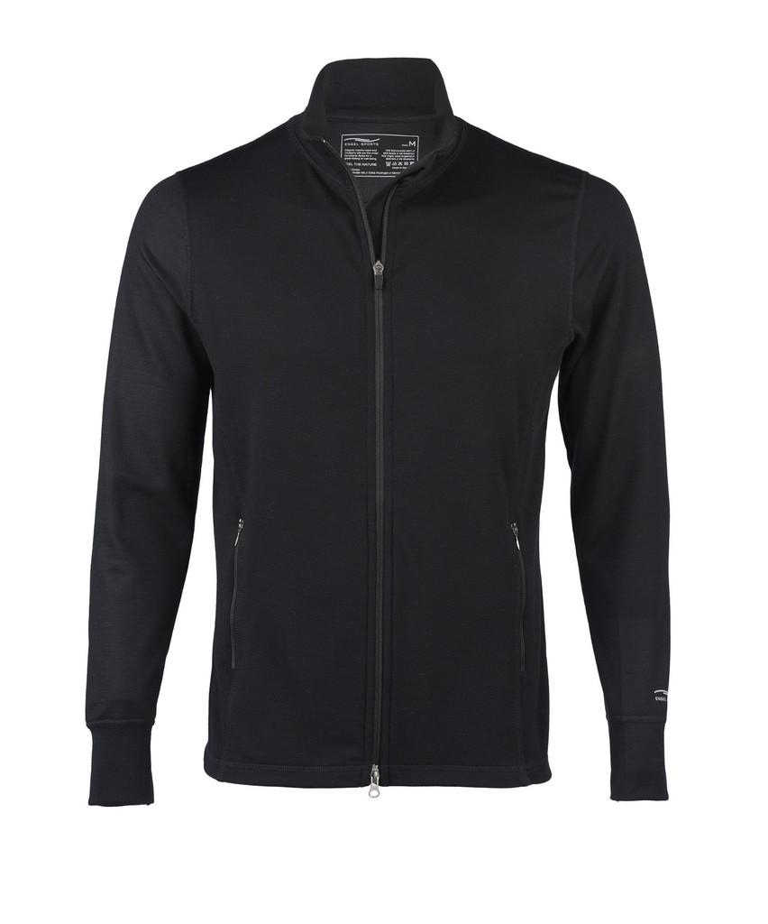 Organic Wool/ Silk Men's Zip Jacket