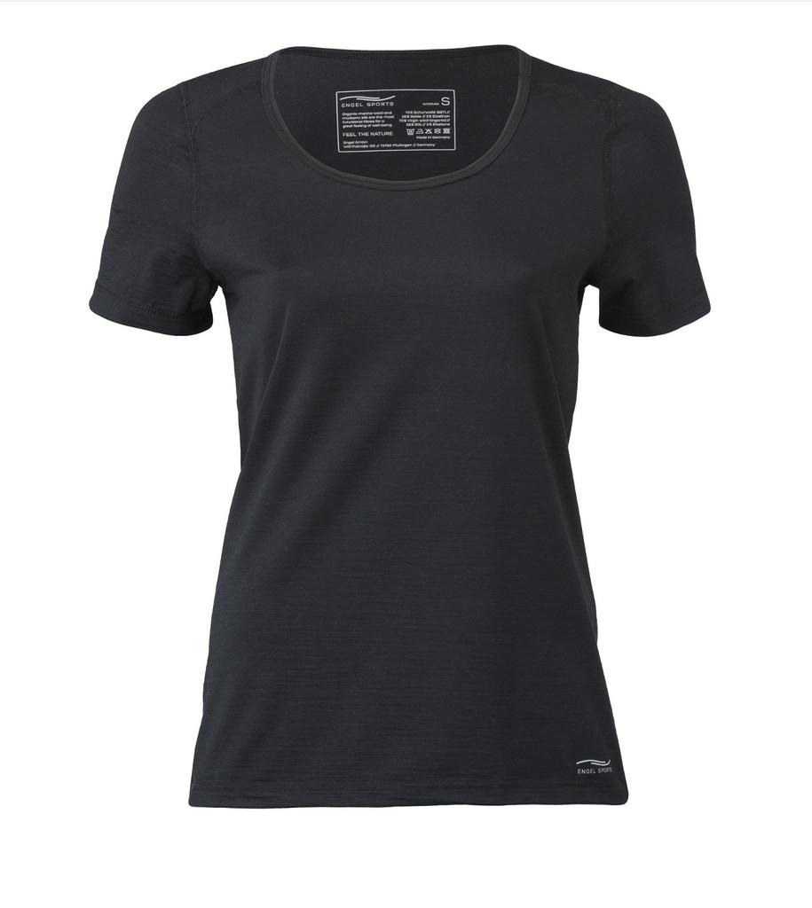 Organic Wool/ Silk Women's Short Sleeved Top Regular fit