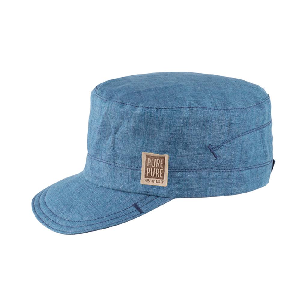 Organic Cotton Summer Hat Color: 311 storm blue
