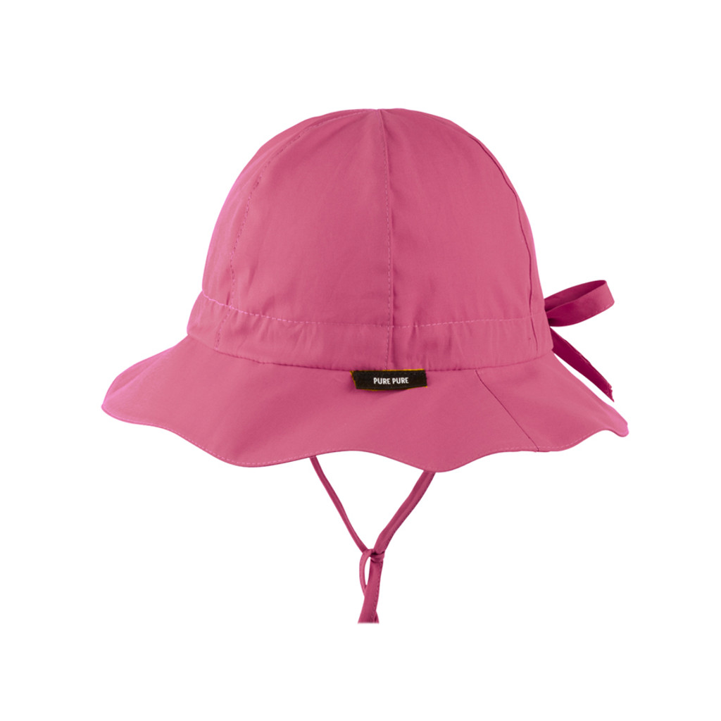 Organic Cotton Summer Hat Color: 20 cassis