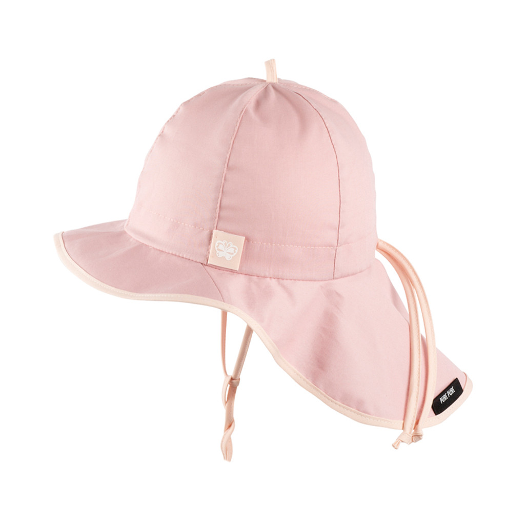 Organic Cotton Summer Hat Color: 133 strawberry cream