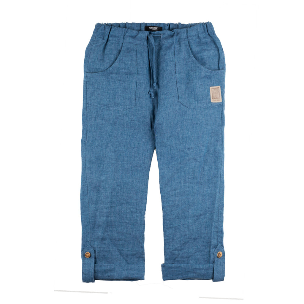Kids Linen Trousers
