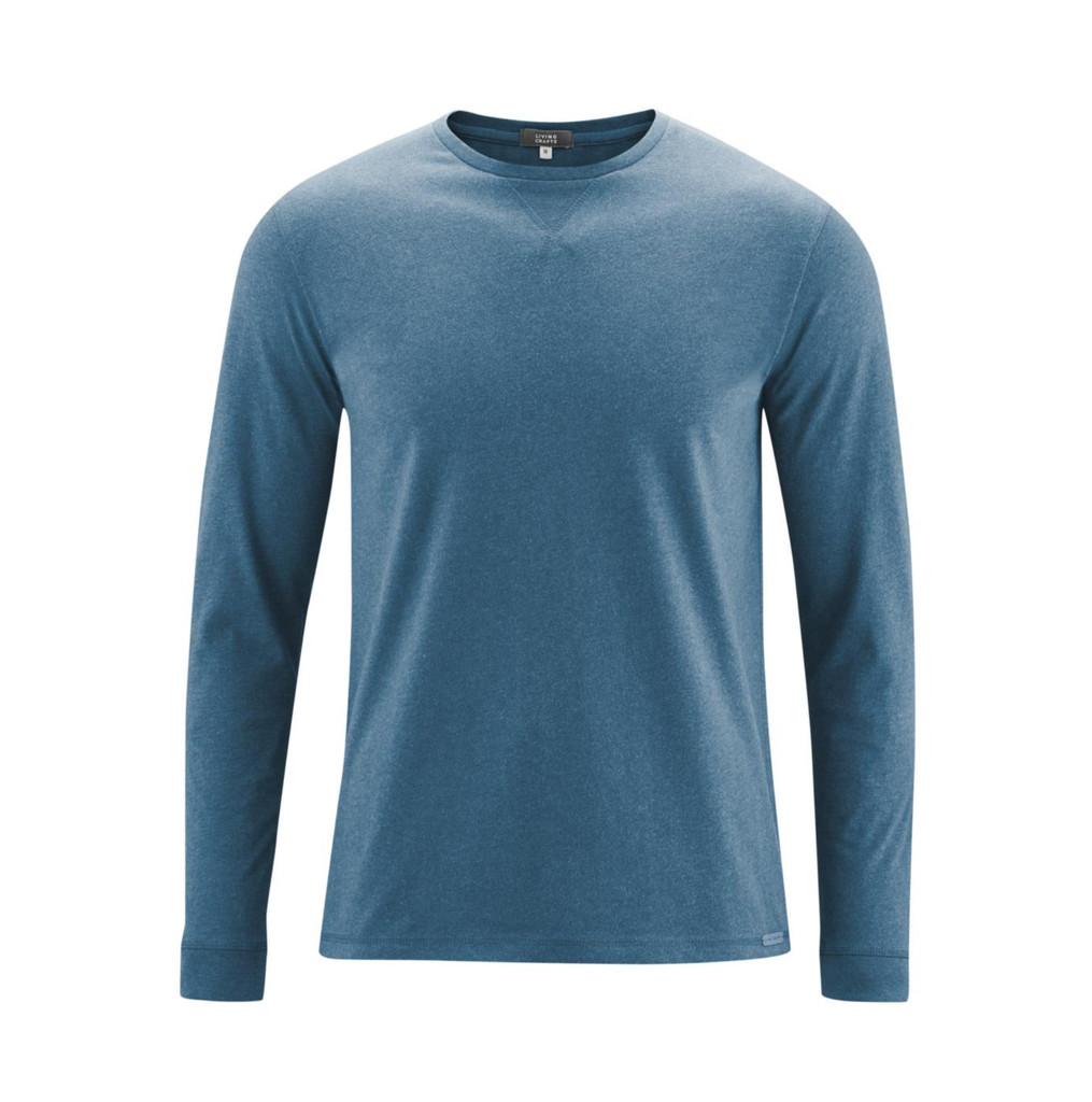 Men's Long-sleeved shirt Color: 793 light petrol