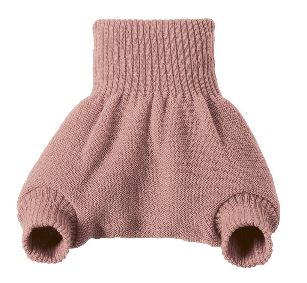 Organic Merino Wool Diaper Cover Color:  Rose