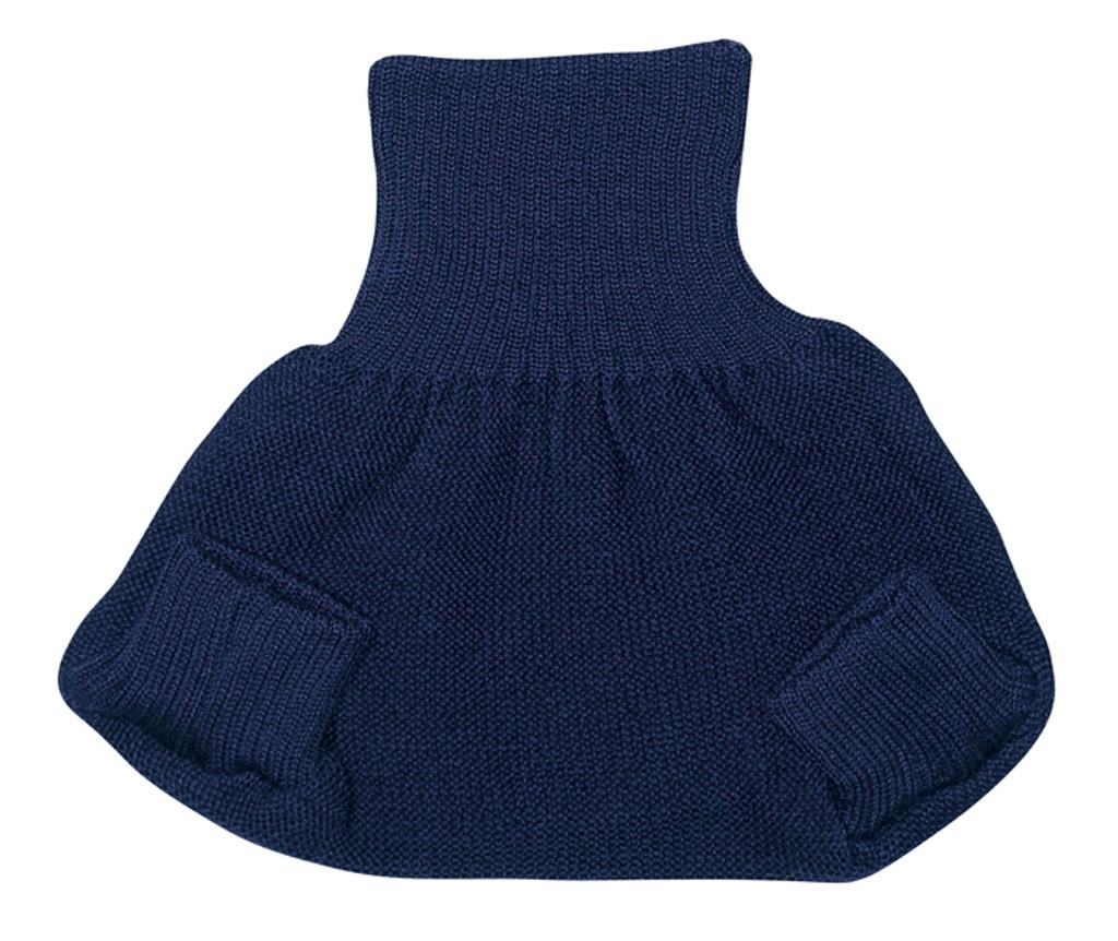 Organic Merino Wool Diaper Cover Color: Navy