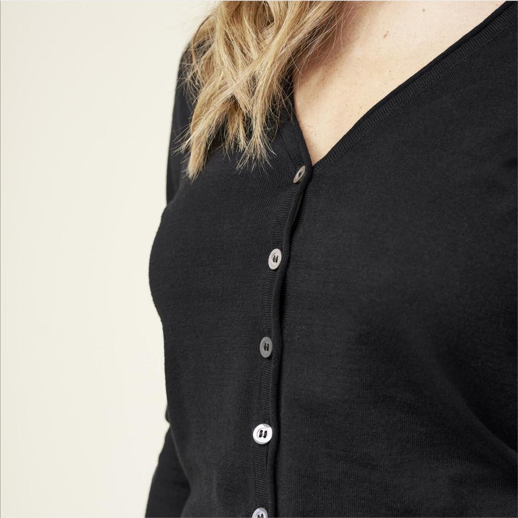 Women's Knitted Jacket, Organic Cotton