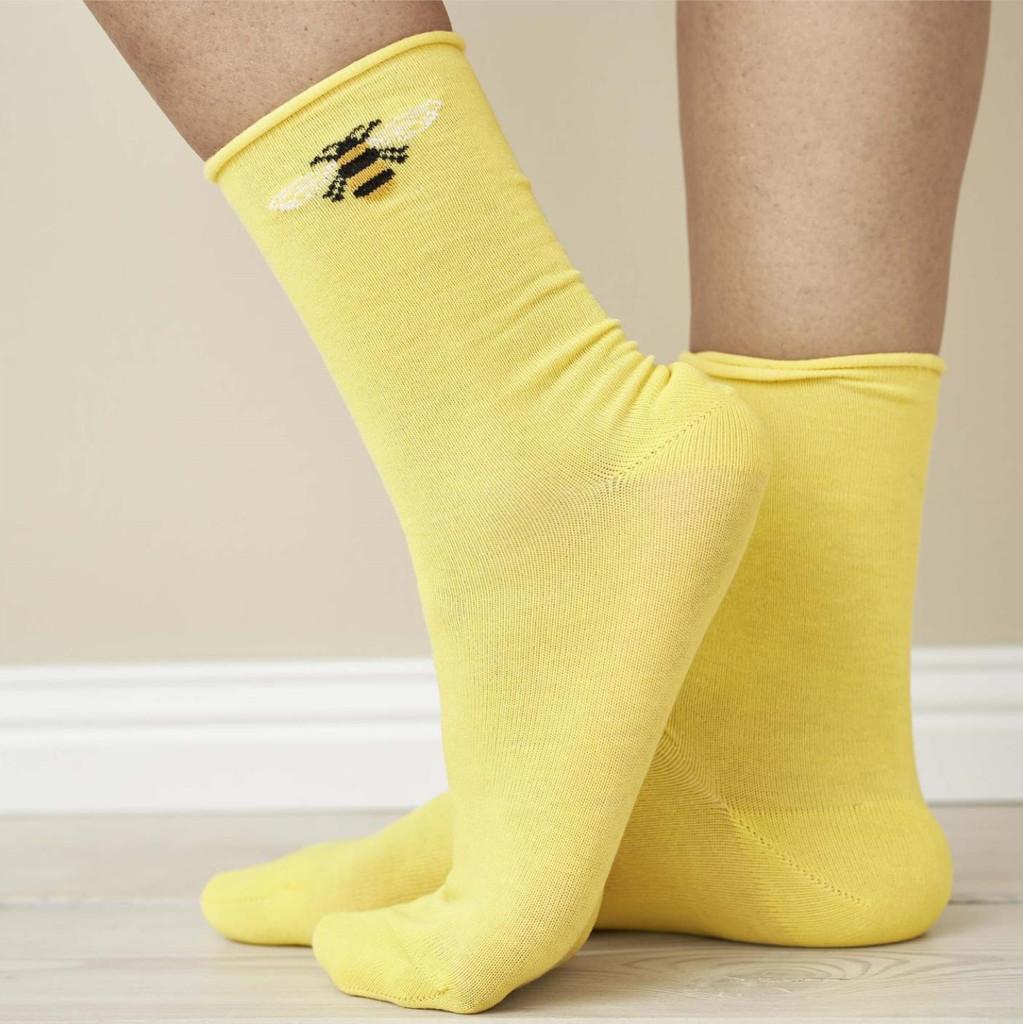 Women's Organic Cotton Socks Color: 15 sun