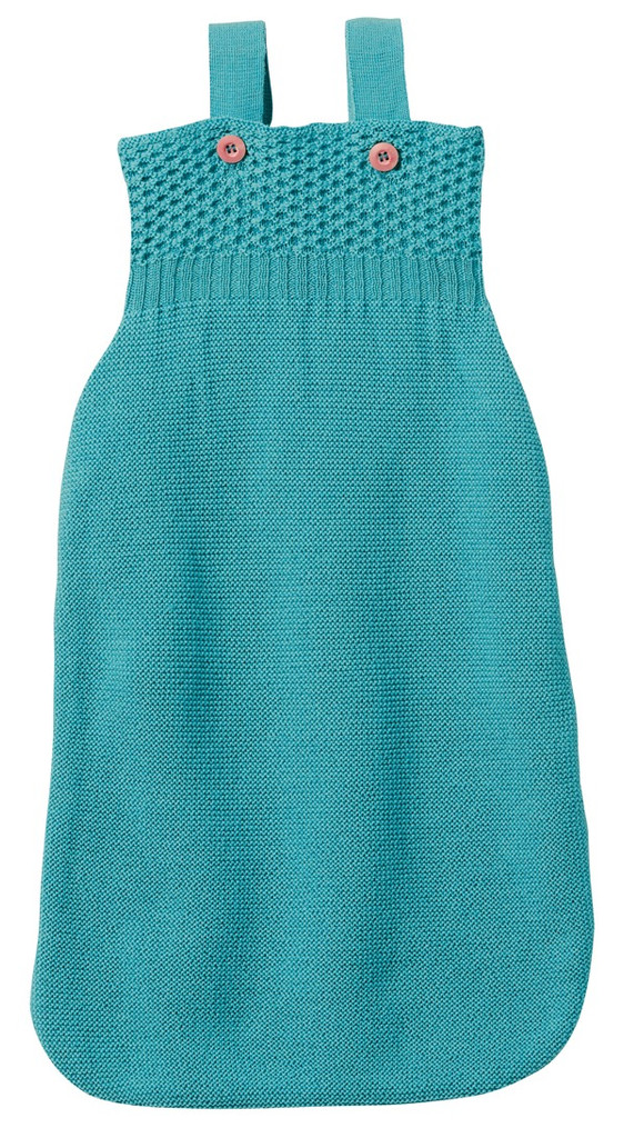 Disana Organic Merino Wool Sleepsack Color: Lagoon