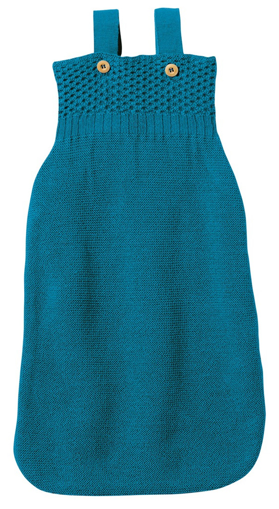 Disana Organic Merino Wool Sleepsack Color: Blue