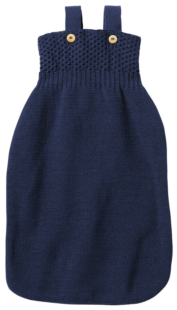 Disana Organic Merino Wool Sleepsack Color: navy