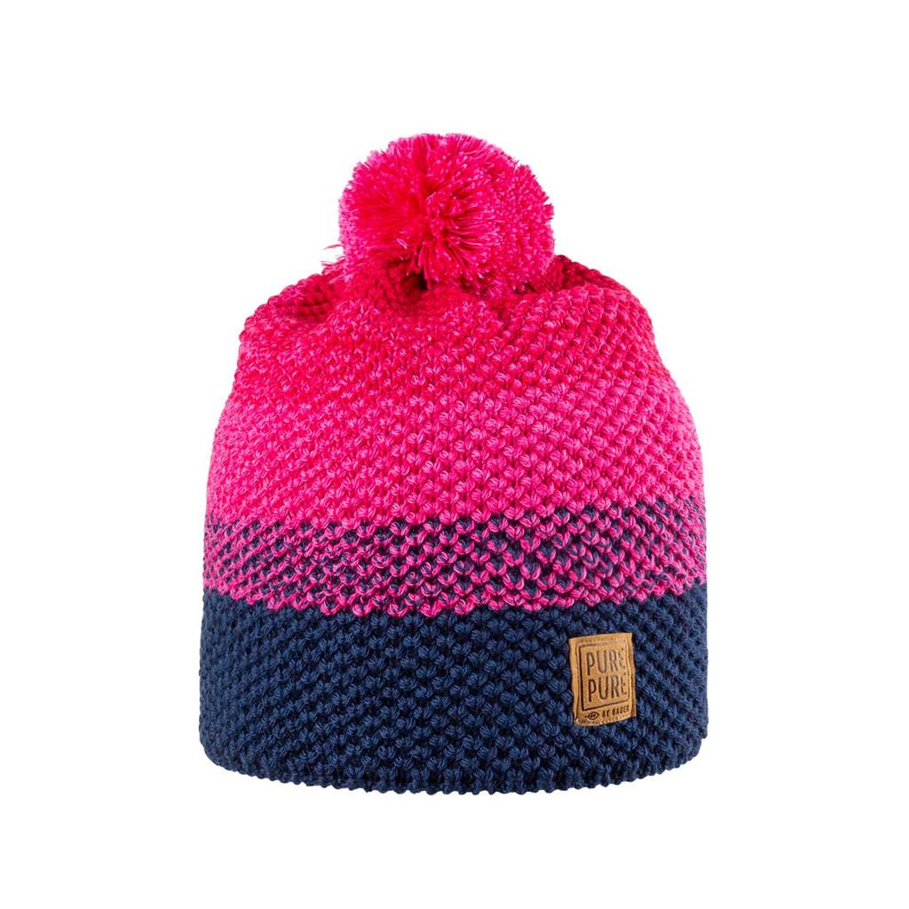 Organic Merino Wool, Cotton, Silk Hat Color: 272 rasperry