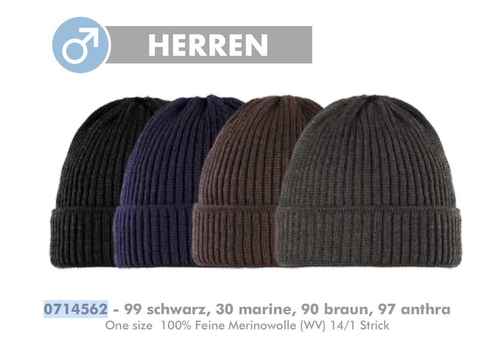 Organic Marino Wool Men Hat, one size