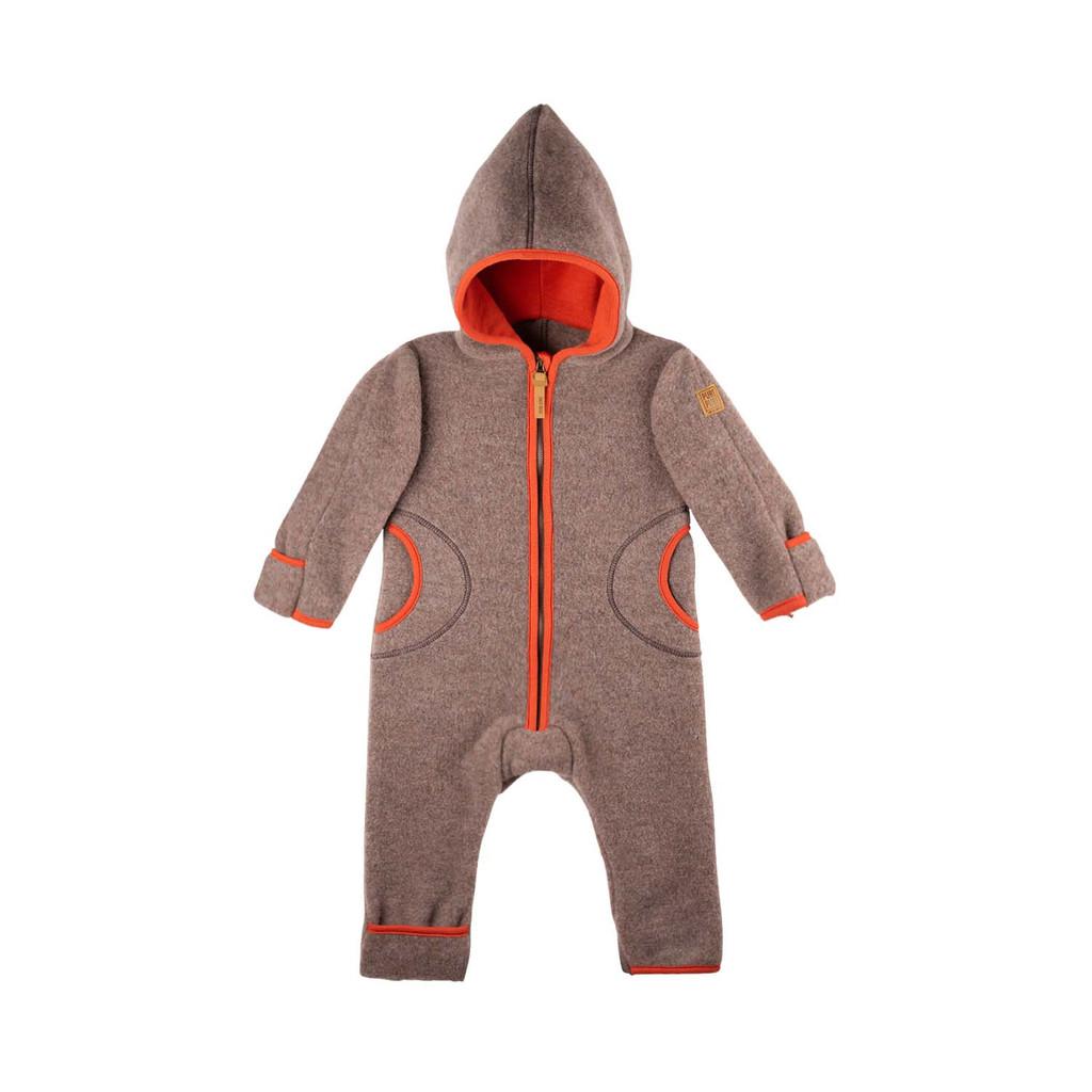 Organic Merino Wool Baby Bunting Color: 903 walnuss