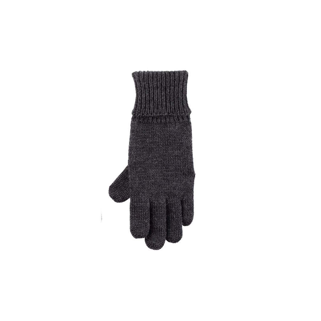 Kids Organic Wool Gloves Color: 97 anthrazit