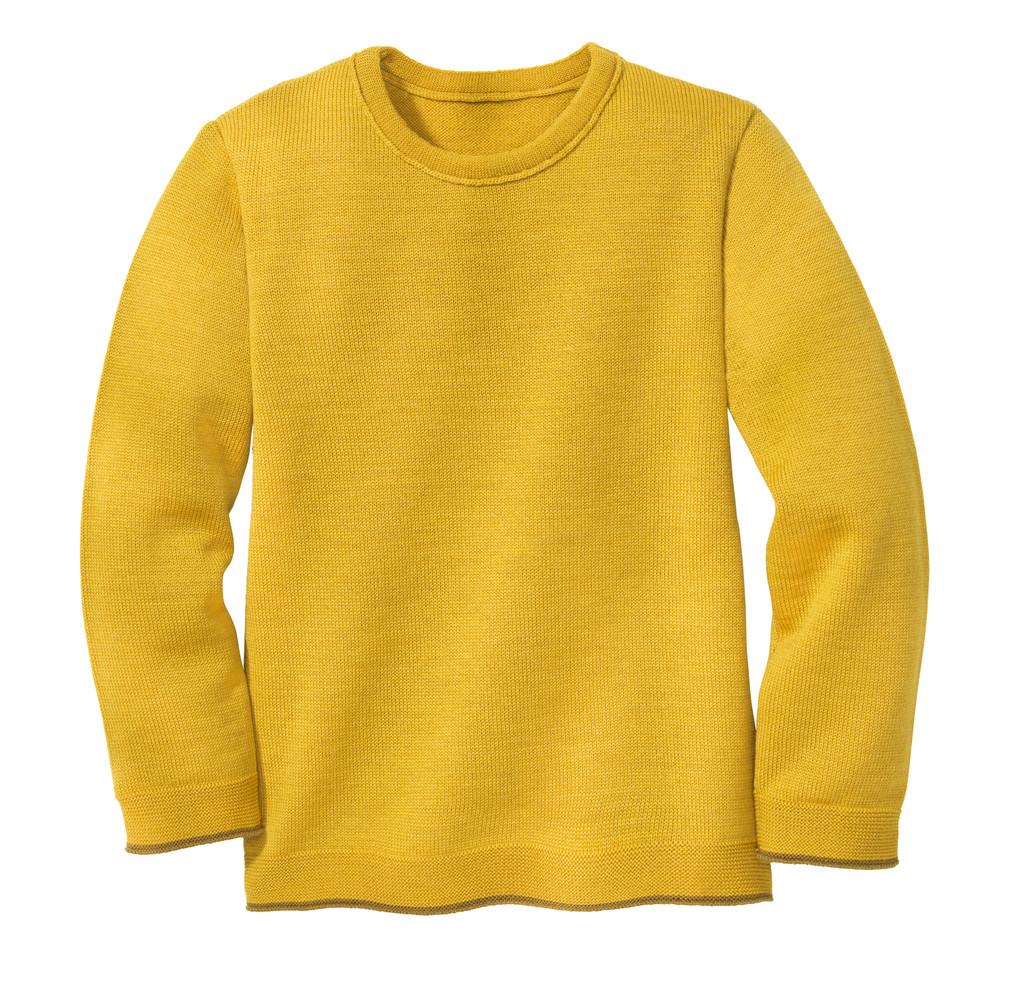 Disana Organic Wool Basic Lightweight Sweater Color: 447 Curry