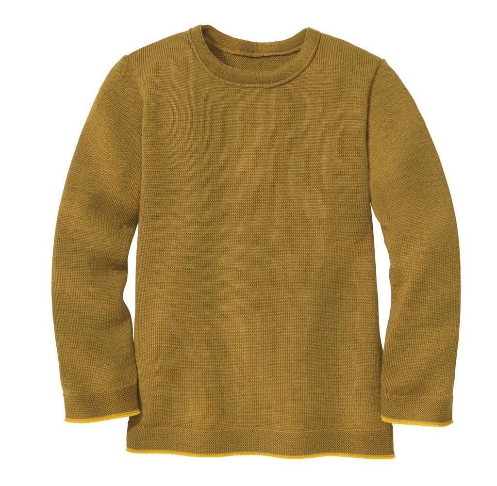 Disana Organic Wool Basic Lightweight Sweater Color: 458 Gold