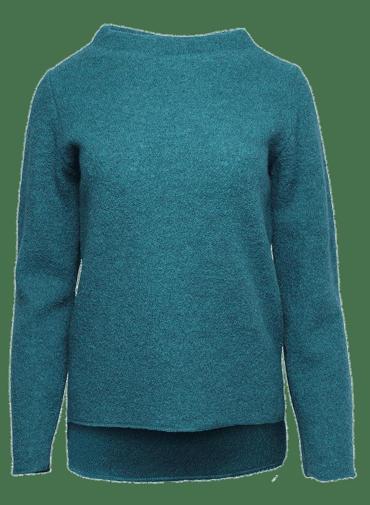 Organic Wool Krepp-fleece Women Shirt Color: