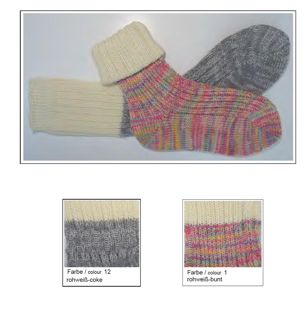 Organic Cotton Wool Kids Socks