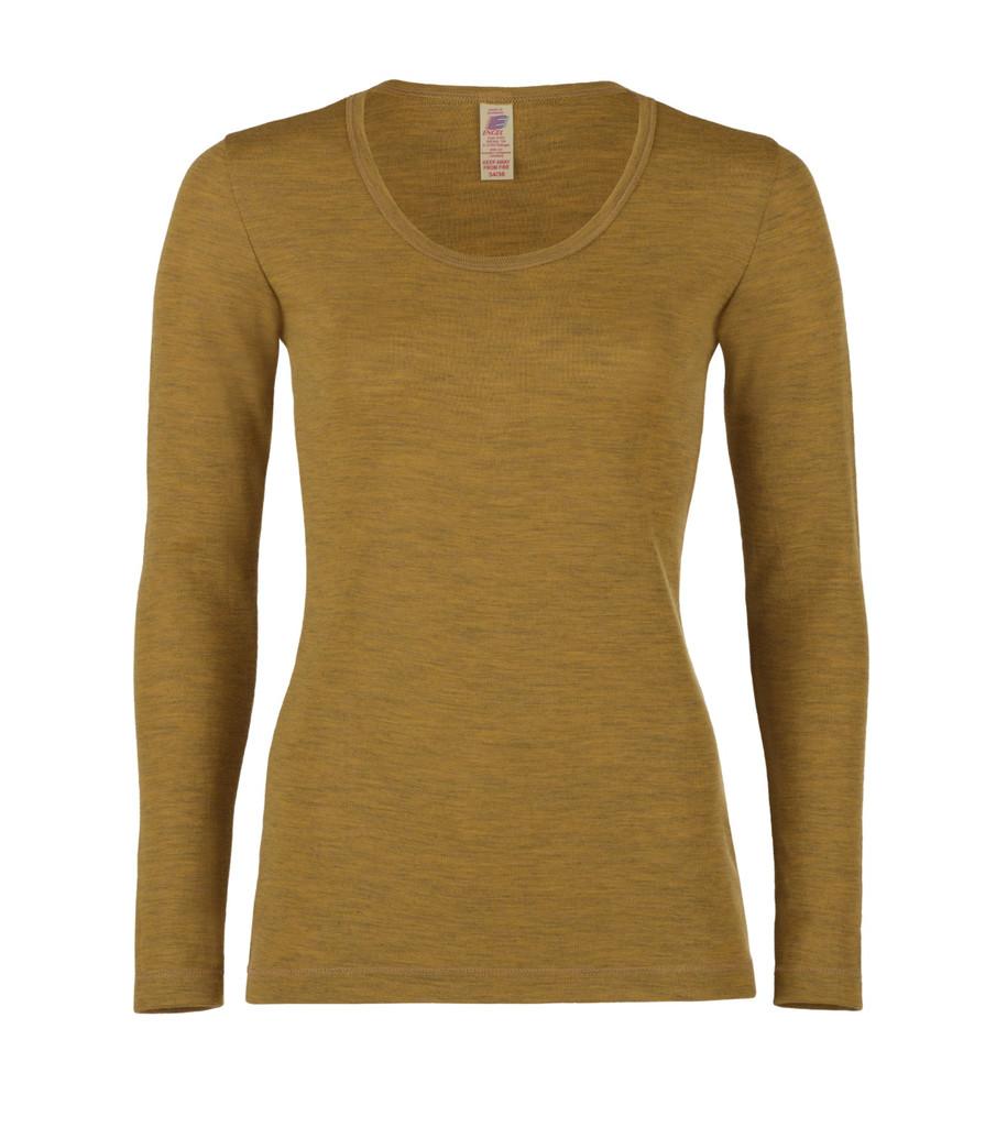Organic Wool Women's Long Sleeved Shirt