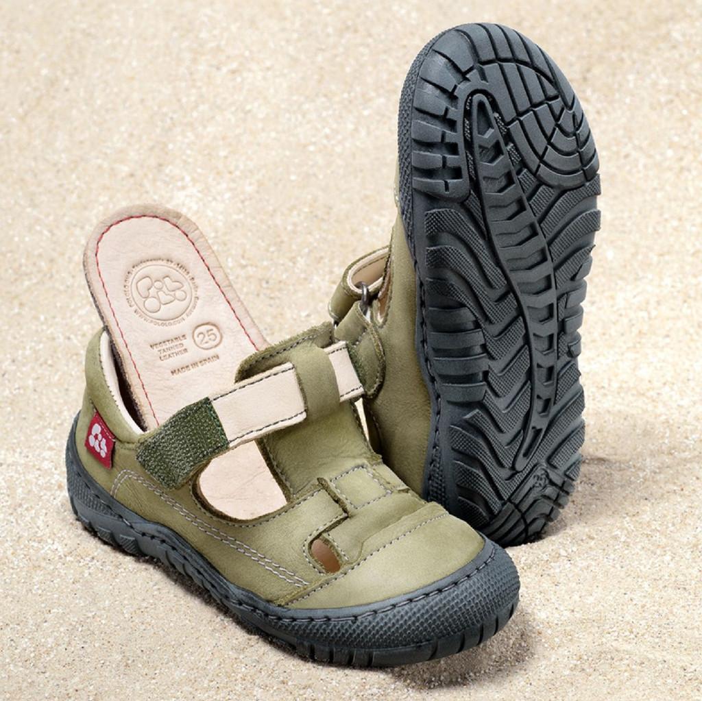 "Natural Leather Sandals | Pololo ""Alicante"""