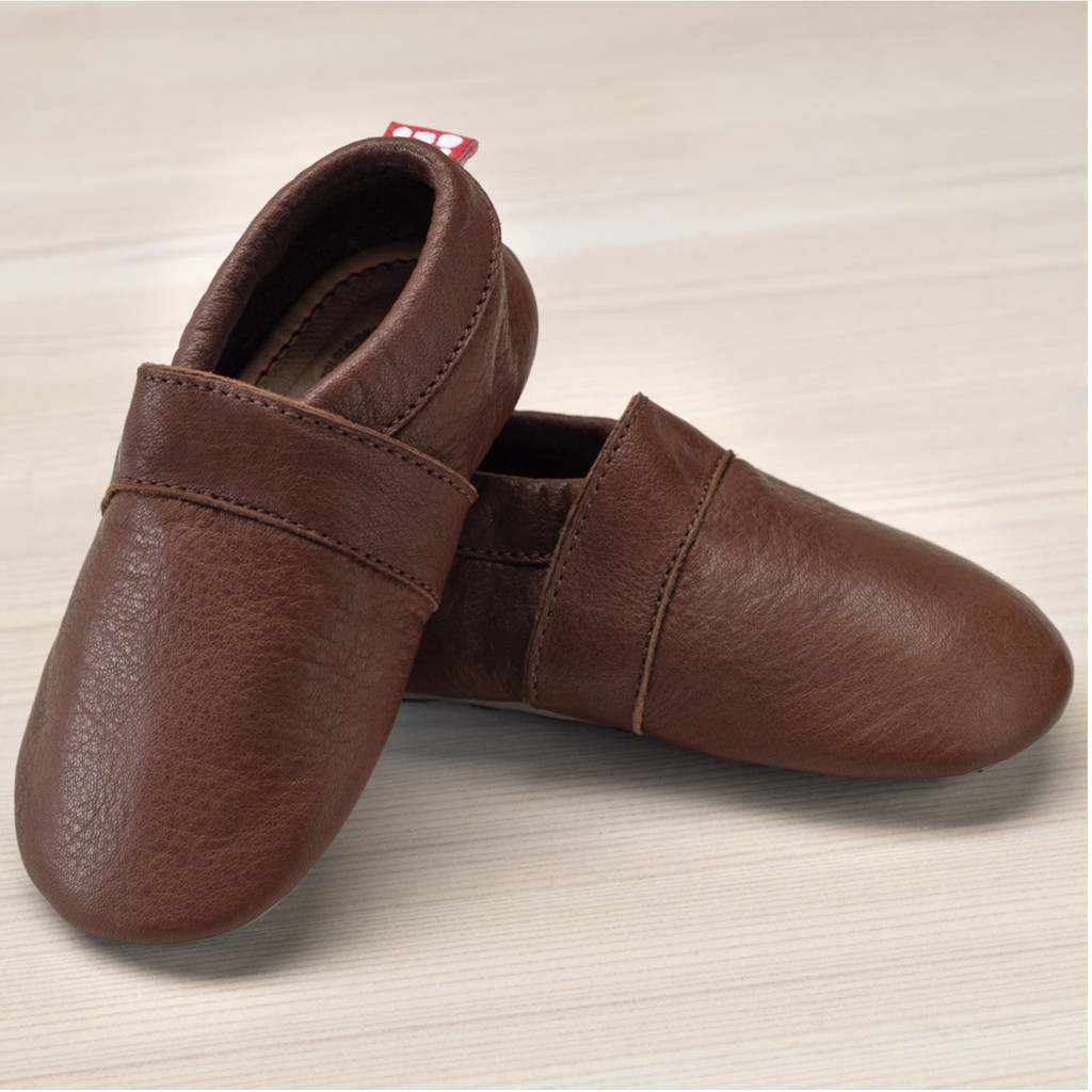 Slippers with insoles Color: Brown