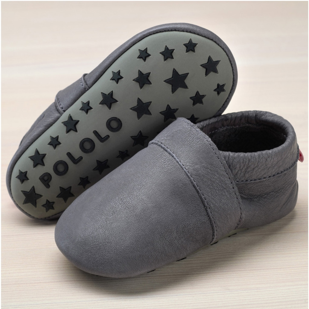 Slippers with insoles Color: Grey