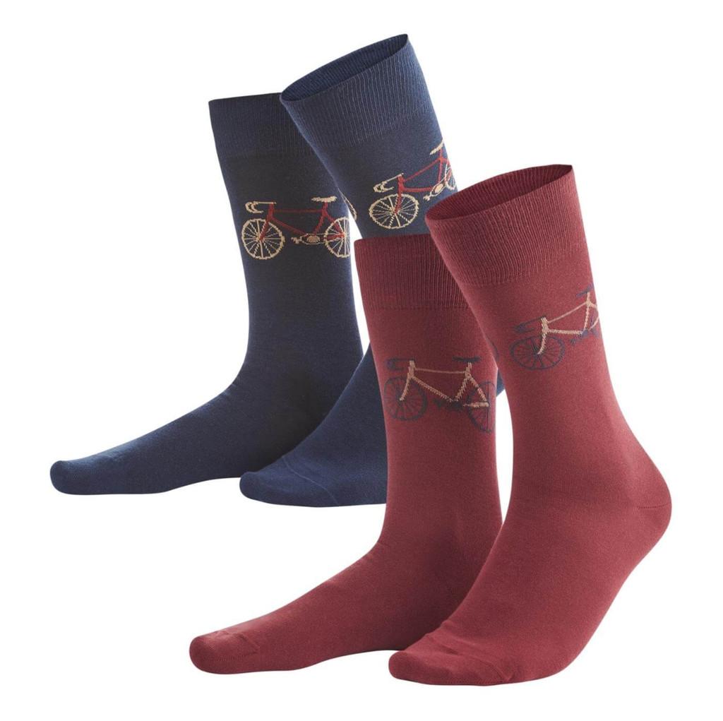 Organic Cotton Socks, pack of 2