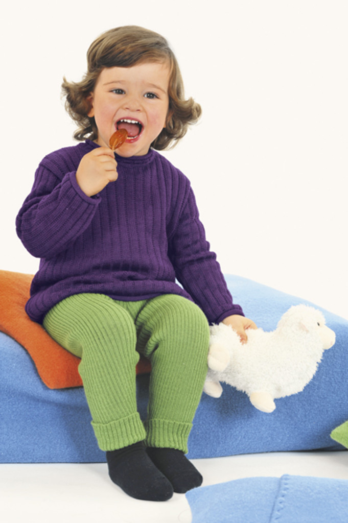 Organic Merino Wool Knitted Leggings