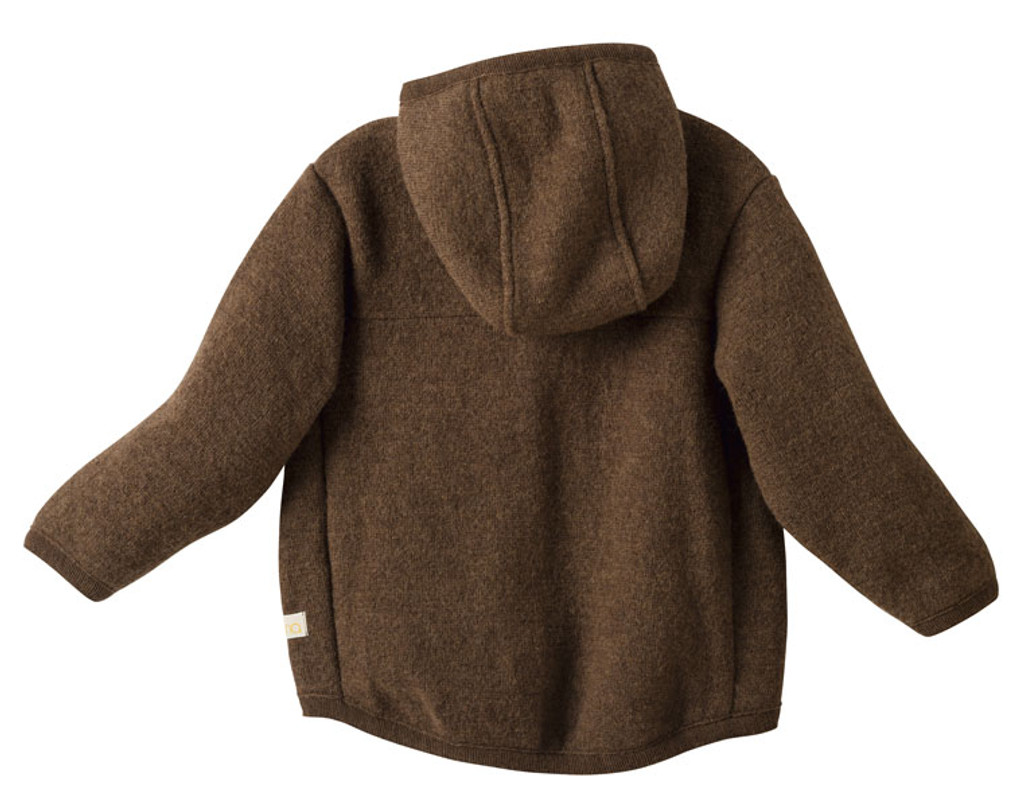 Disana Organic Boiled Wool Jacket Color: Hazelnut