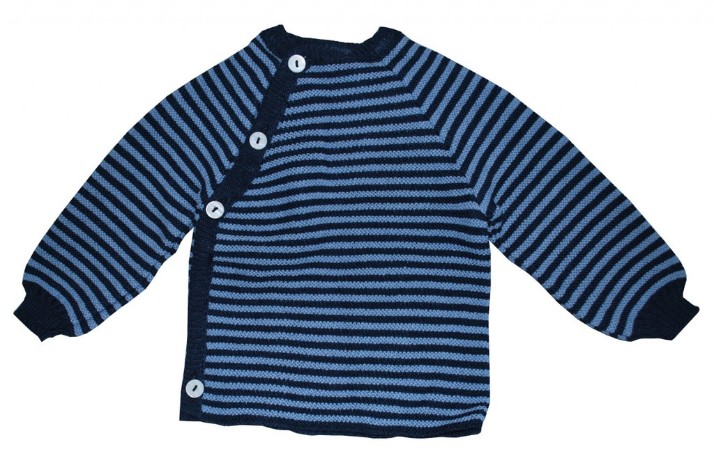 Navy/ Sky Blue Stripes
