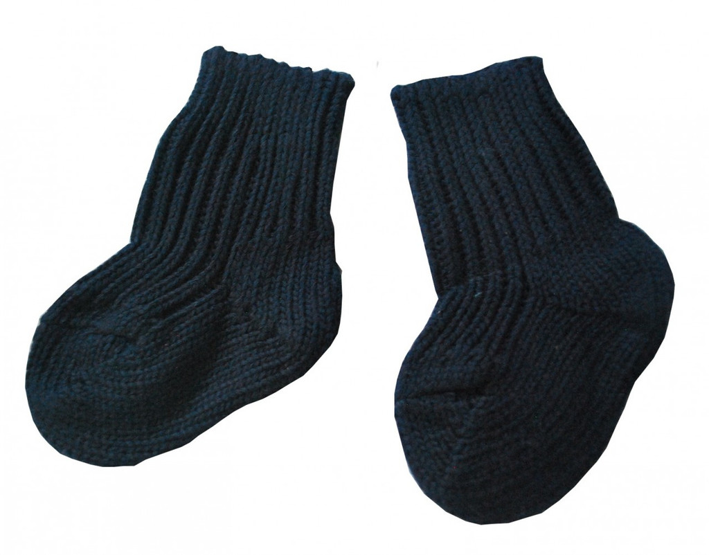 Hirsch Natur Chunky Organic Cotton Knitted Socks